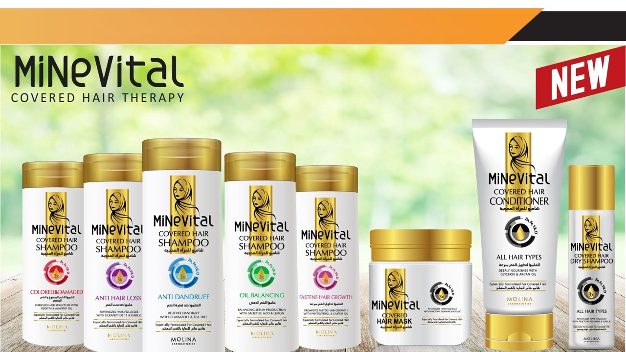 Minevital , our new shampoo series..