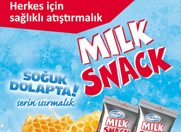 Healty and Milky Snack in Turkey.